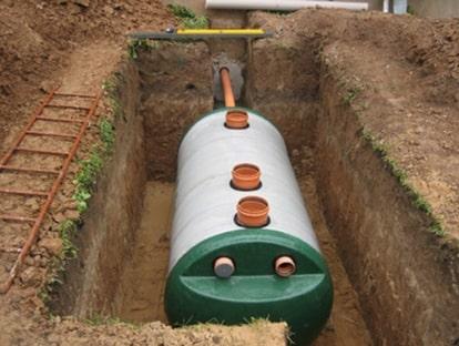 Фото 5: Вид канализации для частного дома из септика