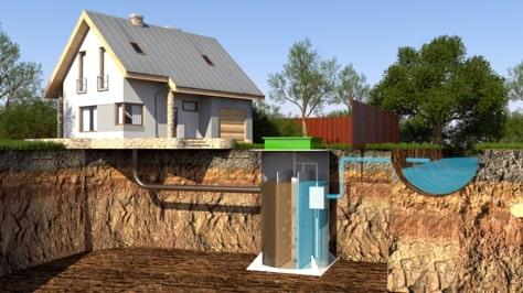Фото 14: Внешний вид автономной канализации