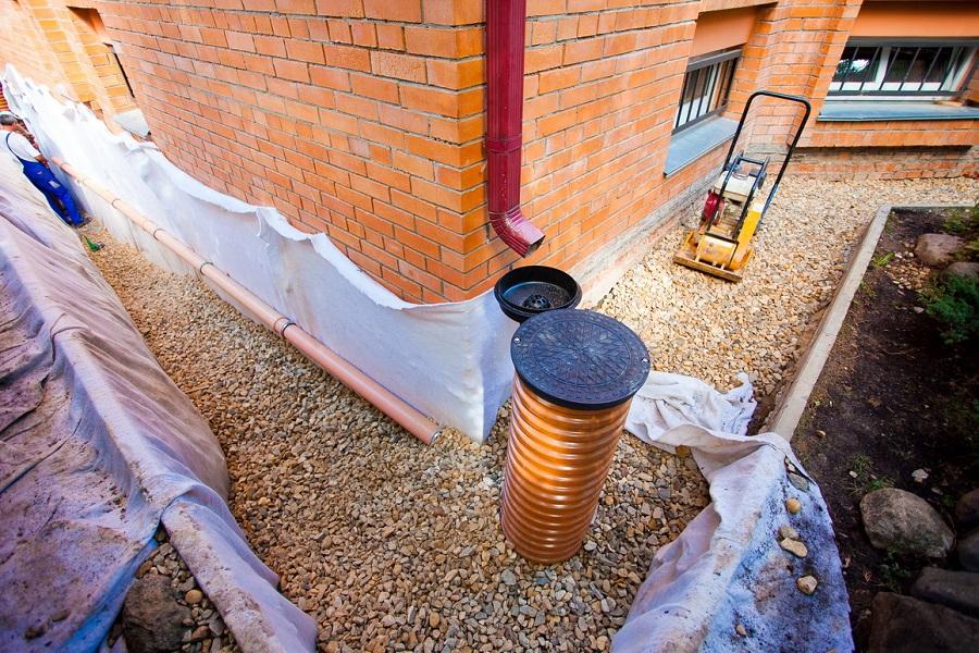 Подготовка к монтажу дренажной канализации