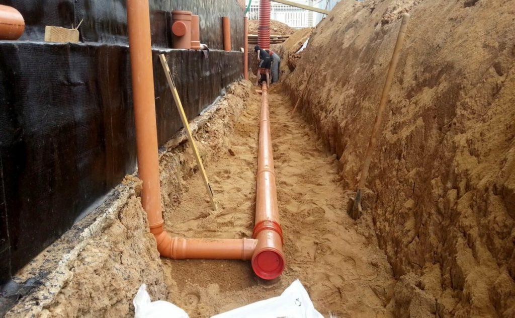 Наружный контур канализации
