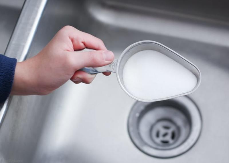 Очистка канализации содой
