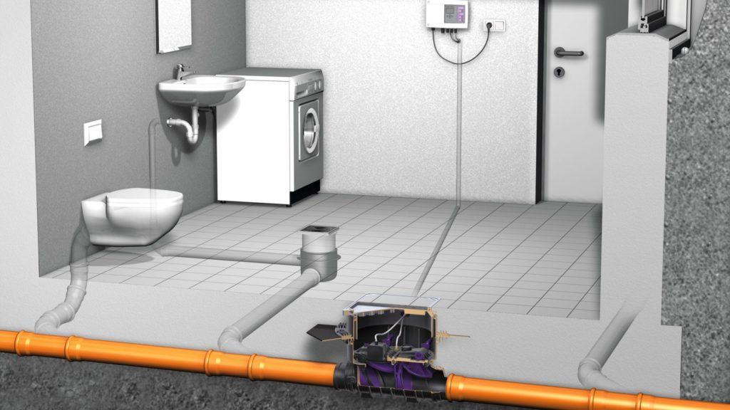 Установка домашней канализации